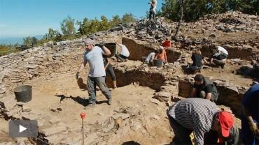 La excavaciones en el yacimiento de la Peña del Hombre apuntan a que fue un castro astur preromano