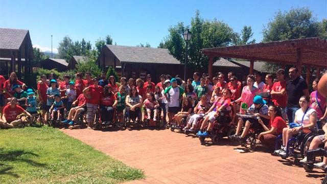 Más de 100 niños con y sin discapacidad inician el XIX Campamento ASPAYM en Cubillos