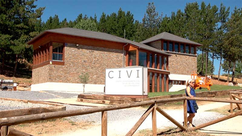 Centro de Interpretación de la Vid y el Vino (CIVI). Foto: Raúl C.