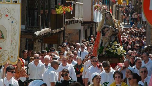 Molinaseca se prepara para las fiestas de las Angustias y San Roque