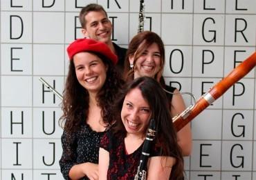 La fagotista ponferradina Clara Alija participa en Corteza de Encina con la formación Quatriola Ensemble