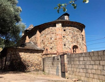 La Junta realiza el estudio preliminar para la rehabilitación de la iglesia románica de Santa María de Vizbayo