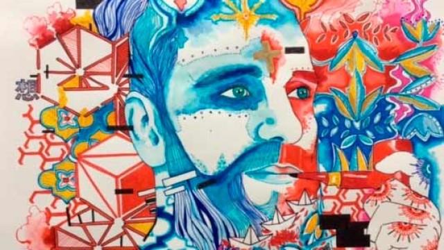 Bruno Santín exponen en el Marca una retrospectiva de sus últimos trabajos