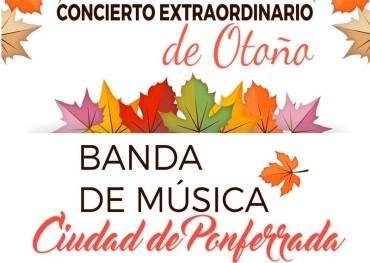 La Banda de Música de Ponferrada da la bienvenida al otoño con un concierto especial