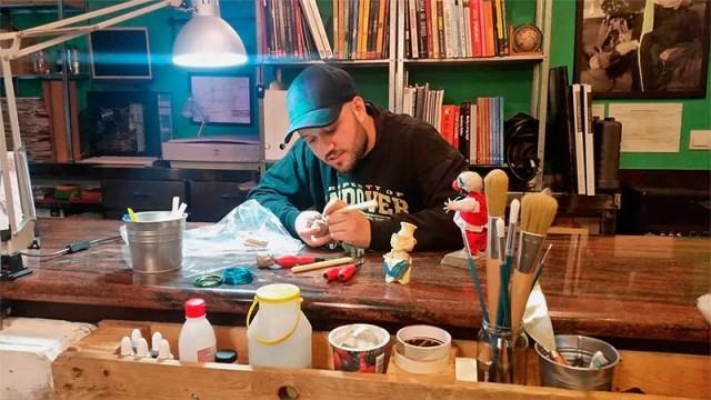 El artista berciano Daniel Volgy participará en la Bienal de Florencia de 2017