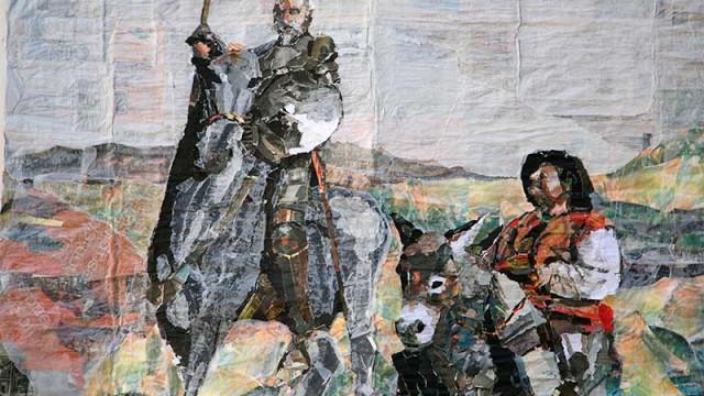"""Luis Gómez presenta """"Evocaciones del Quijote"""" en la sala Arte Palacio de Torquemada de Villafranca"""