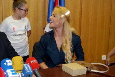 Lydia Valentín galardonada en la cuarta edición de los Premios Pódium del Deporte de Castilla y León