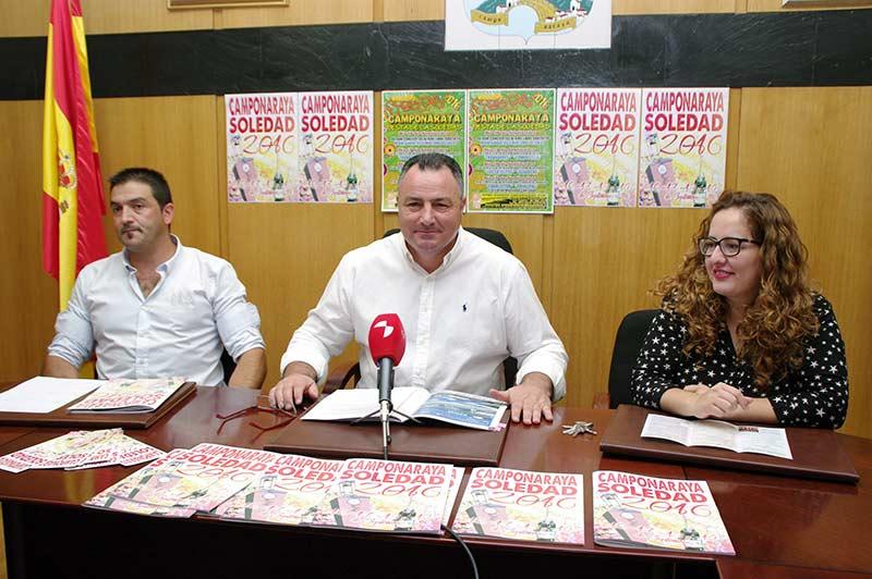 Eduardo Morán, alcalde de Campoanraya, presenta las Fiestas de la Soledad. Foto: Raúl C.