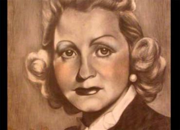El Museo Alto Bierzo presenta la pieza del mes, el retrato de Coral Ortiz