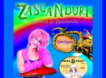 """Zascanduri en las Fiestas del Cristo de Bembibre con el espectáculo """"Venimos de Dancilandia"""""""