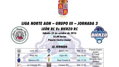 Bierzo Rugby se mide este fin de semana al ULE Levidro León