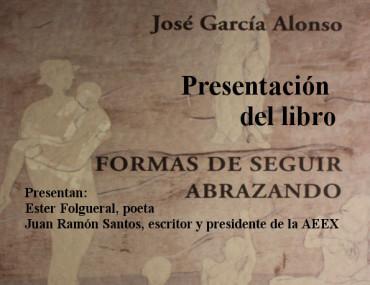 """José García Alonso presenta en el Museo de la Radio """"Formas de seguir abrazando"""""""