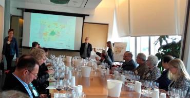 El enólogo Steve Olson elogia los vinos bercianos en el Great Match de Nueva York
