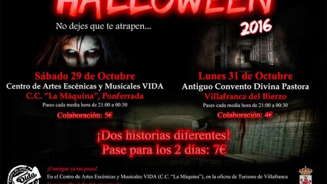 La asociación Vida presenta dos espectáculos en Ponferrada y Villafranca para celebrar Halloween