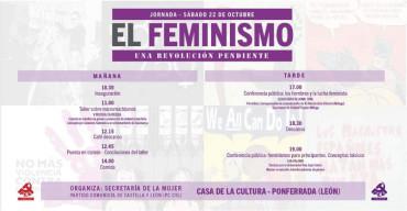 """Jornada """"El feminismo, una revolución pendiente"""""""