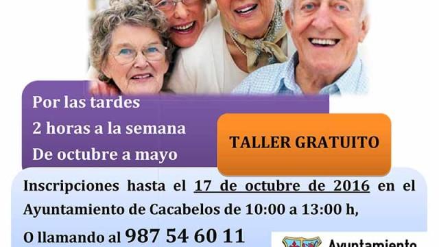 Quilós y Cacabelos clausuran los talleres de memoria 2016/17