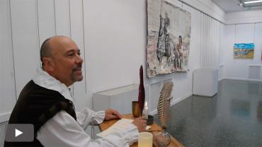 La asociación de Pintores del Bierzo homenaje a Cervantes en el cuarto centenario de su muerte