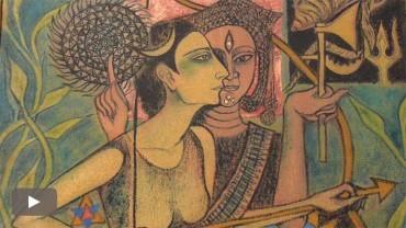 La mujer artista de la India retrata su propia realidad en 'Women by women'