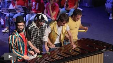 La Banda de Música y Odaiko presentan un divertido recorrido por la historia de la música