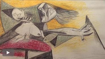 Templum Libri expone los 42 dibujos preparatorios que Pablo Picasso realizó para pintar el Guernica