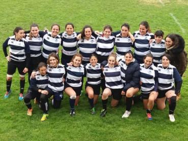 El equipo femenino de Bierzo Rugby cae ante Arroyo en la final de plata de Castilla y León