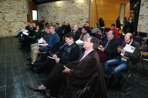 Presentación de los proyectos del Comité de Empresa de Ciuden a la Mesa de la Energía. Foto: Raúl C.