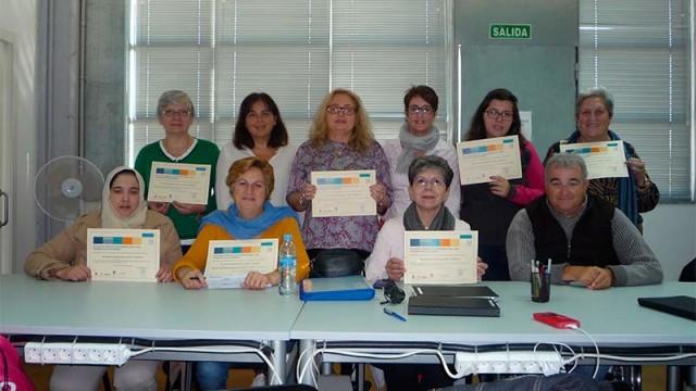 Cocemfe León clausura el taller de alfabetización digital