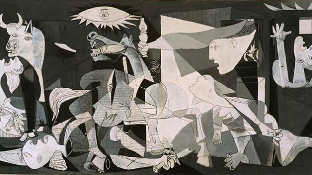 Visita comentada a los 42 estudios sobre papel del Guernica en Templum Libri