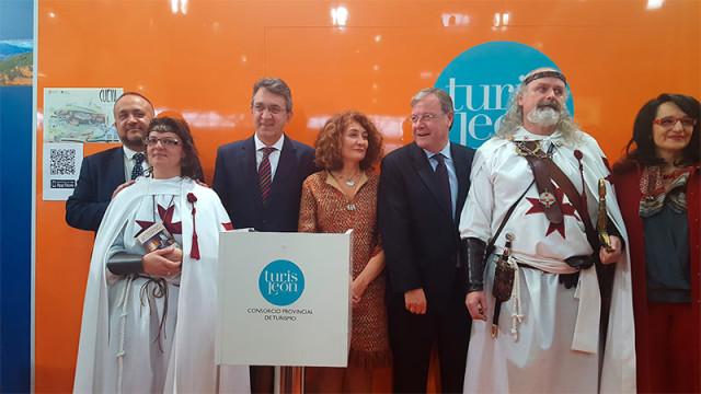 El mostrador de Ponferrada en Intur recibe 2.500 visitas