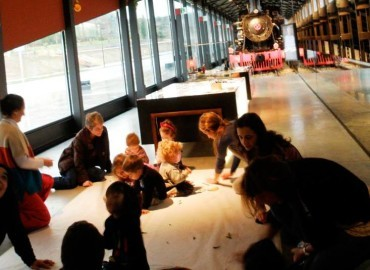 PequeMuseo y wikimaratón en la Fábrica de Luz – Museo de la Energía