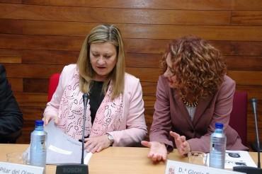 Pilar del Olmo pedirá al Gobierno la apertura del decreto ley para el reconocimiento de Ponferrada como municipio minero
