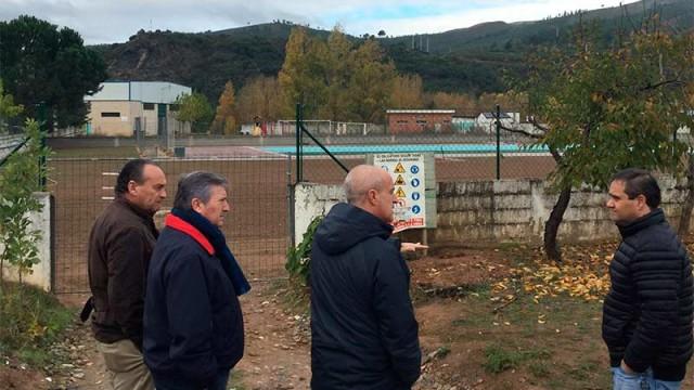 Diputación ejecuta la tercera fase de la construcción de las piscinas de Puente Domingo Flórez