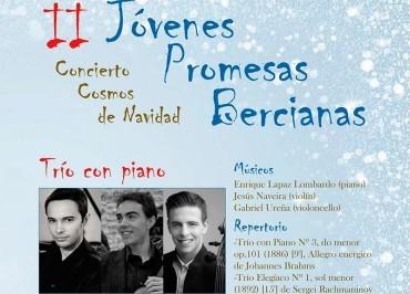El IEB y Cementos Cosmos presentan el II Concierto Jóvenes Promesas Bercianas