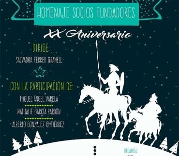 La Banda de Música homenajea a Cervantes y a sus socios fundadores en el concierto de Navidad