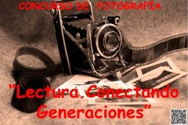 Concurso universitario de fotografía  'Lectura. Conectando generaciones'