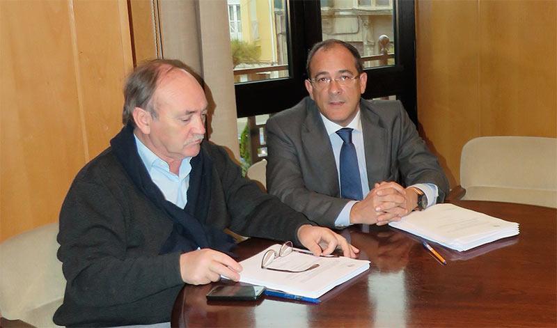 José Manuel Otero y Manuel Fernando Díez.