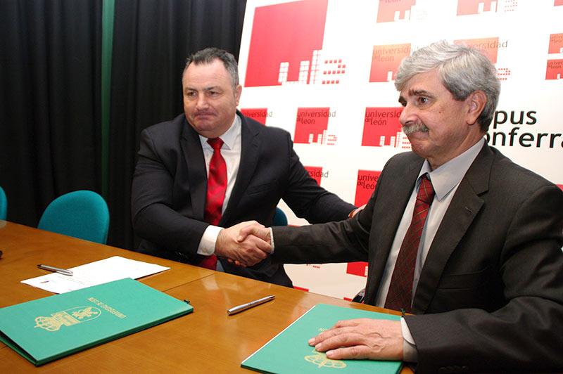 Juan Francisco Marín y Eduardo Morán. Foto: Raúl C.