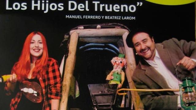 """Manuel Ferrero y Beatriz Larom presentan en el Teatro Benevivere """"Mineros. Los hijos del trueno"""""""