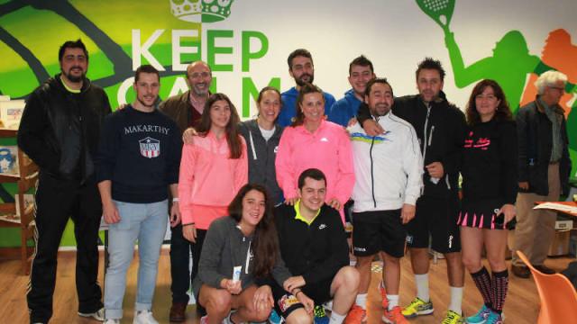 Asprona recibe más de 500€ en el I Torneo Solidario organizado por Pádel Indoor Ponferrada