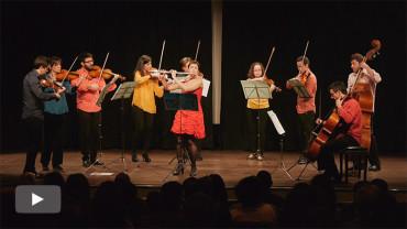 La Camerata Clásica de Ponferrada ofrece su concierto de Año Nuevo con la colaboración de la flautista Alicia Garrudo