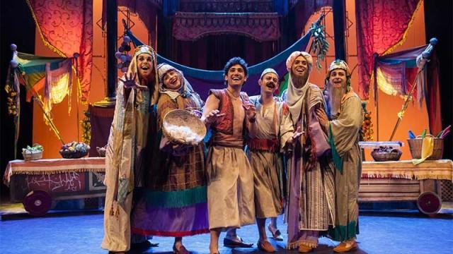 Aladín trae al Bergidum la magia del cuento y la espectacularidad del musical familiar