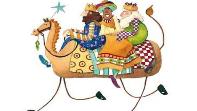 Los Reyes Magos de Oriente vistan Carracedelo