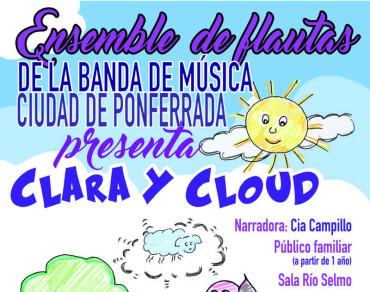"""El Ensemble de Flautas de la Banda presenta para el público familiar """"Clara y Cloud"""""""