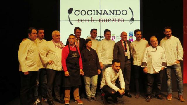 Cocinando lo nuestro, una iniciativa para promocionar los productos de León y Valladolid