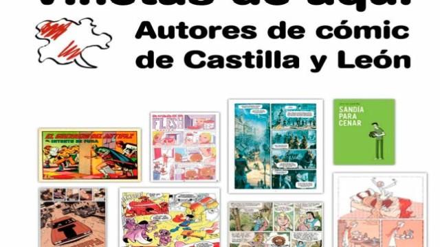 """La Casa de las Culturas de Bembibre acoge la exposición """"Viñetas de aquí. Autores de cómic de Castilla y León"""""""