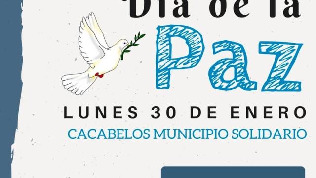 Cacabelos celebra el Día Internacional de la Paz para reivindicar la tolerancia y el respeto de los derechos humanos