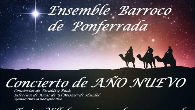 Ensemble Barroco y Patricia Rodríguez ofrecen un concierto de Año Nuevo en el Teatro Villafranquino