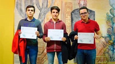 El ponferradino Hugo Neira ganador de la fase local de la 53 ªOlimpiada Matemática