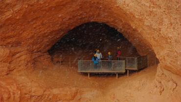 La Junta estudia crear un espacio cultural común con los yacimientos de las Médulas y Tresminas