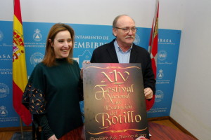 José Manuel Otero y Laura Álvarez presentan el 45º Festival Nacional de Exaltación del Botillo. Foto: Raúl C.